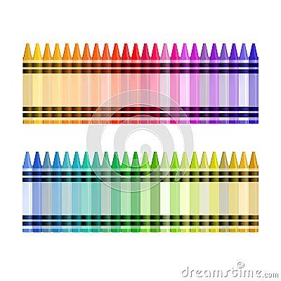 вектор пастели цвета