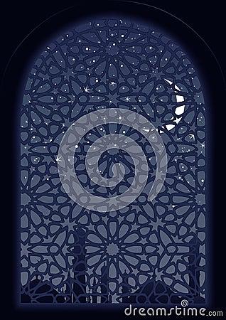 арабское окно