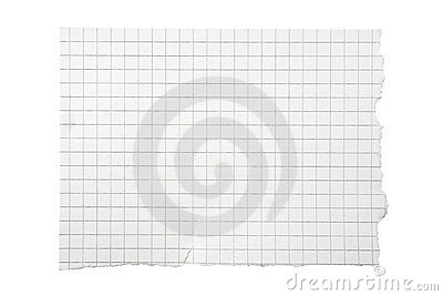 бумажная приданная квадратную форму часть сорванной