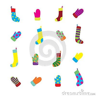 手套集合袜子