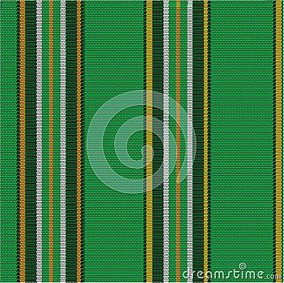 模式镶边纺织品