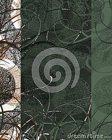 被构造的装饰漩涡