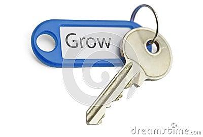 вырастите ключевым к