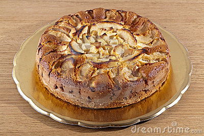 торт яблока