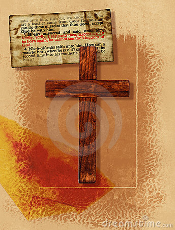 крест коллажа