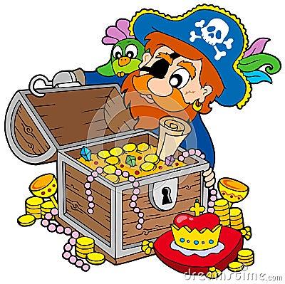 сокровище пирата отверстия комода
