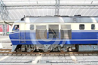 παλαιό τραίνο ύφους