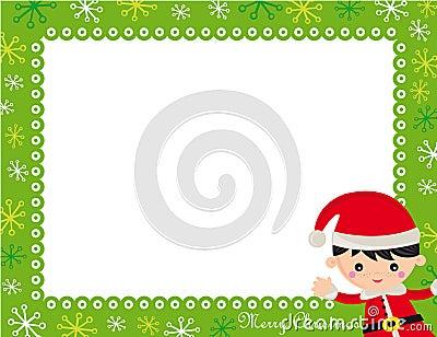 圣诞节框架