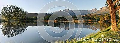 非洲南圆形露天剧场的全景