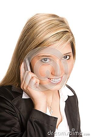 женщина телефона