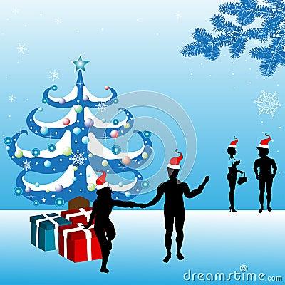 праздновать рождество