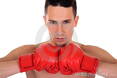 运动员拳击手男