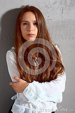 κορίτσι ομορφιάς
