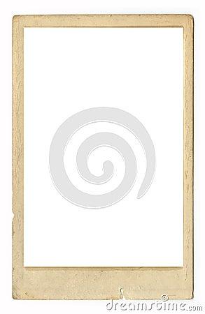 古色古香的框架脏的照片