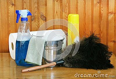 καθαρίζοντας άνοιξη