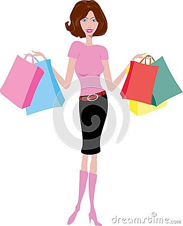 θηλυκός αγοραστής