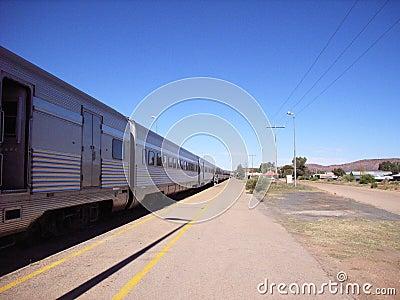 длинний поезд