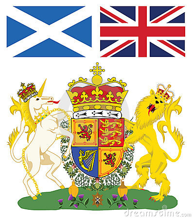 эмблема Шотландия