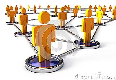 连接数人的网络