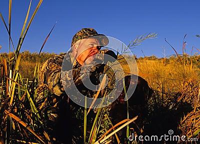 охотник утки собаки