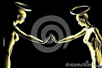 ангелы любознательние