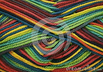 χρωματισμένα νήματα