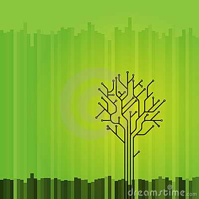 抽象图象结构树