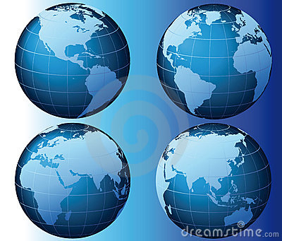全球系列集合向量世界