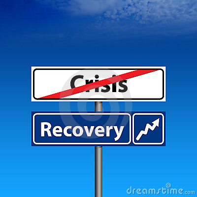 危机经济结尾恢复路标