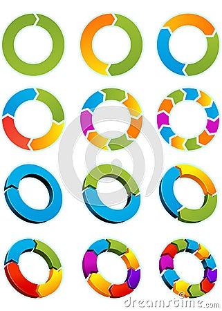 круги стрелки