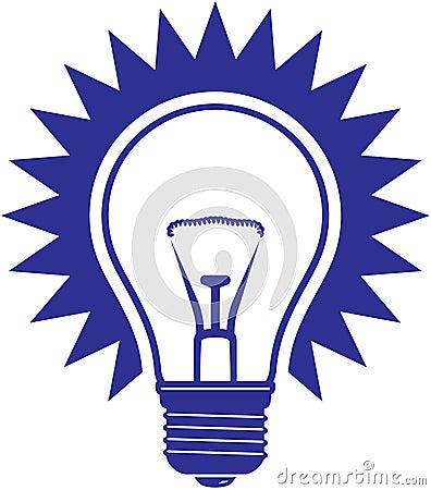 电灯泡图标光