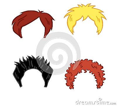 头发人样式