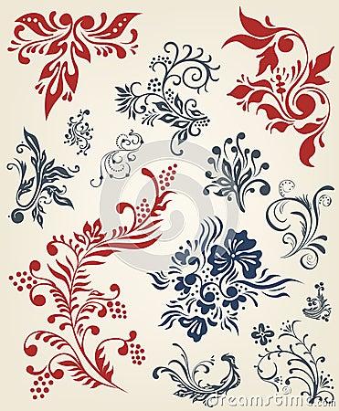 花卉收集装饰