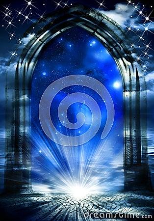 梦想给神秘装门
