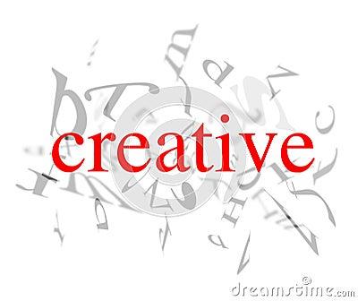 创造性的字