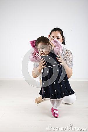 小舞蹈演员女孩