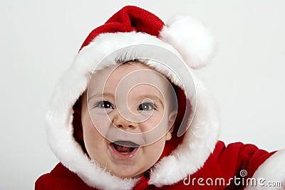婴孩圣诞老人