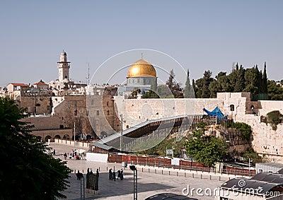 西部耶路撒冷的墙壁