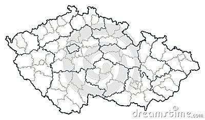 捷克映射共和国向量
