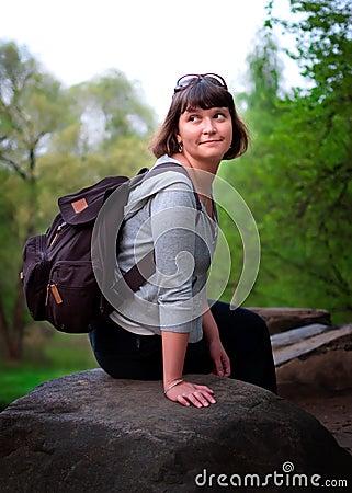 θηλυκός τουρίστας