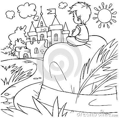 字符童话略图汤姆