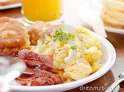 晴朗的早餐