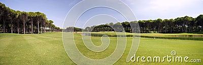 панорама гольфа клуба