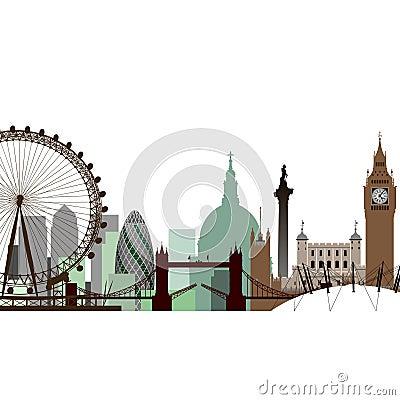 都市风景伦敦 编辑类照片