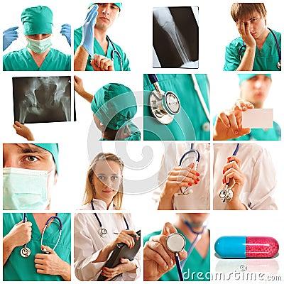 κολάζ ιατρικό