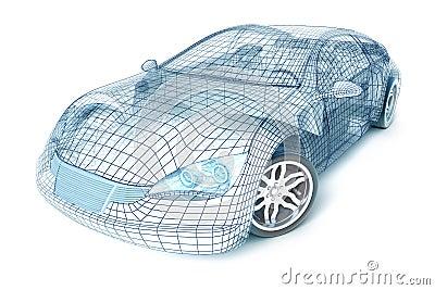 汽车设计设计我自己的电汇
