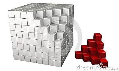 τρισδιάστατοι κύβοι