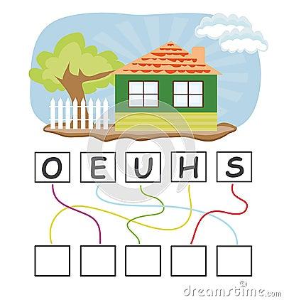与房子的文字游戏