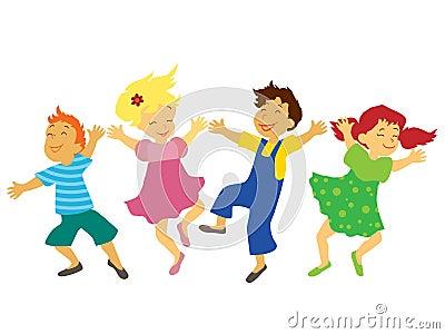 танцевать детей