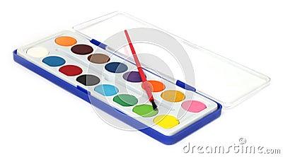 παλέτα χρώματος κιβωτίων